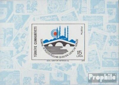 Turkey block18 (complete issue) unmounted mint / never hinged 1978 EDIRNE 78