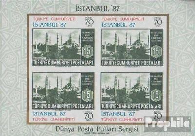 Turkey block24 (complete issue) unmounted mint / never hinged 1985 istanbul 87