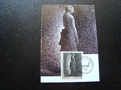 FRANCE - card 1st day 13/4/1991 (georges seurat) (cy41) french
