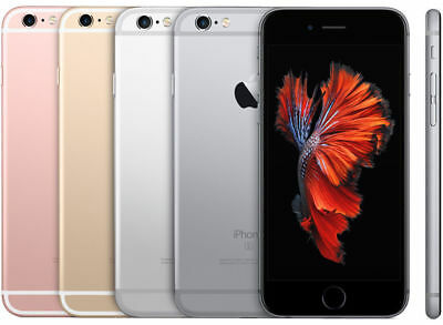 Apple Iphone 6S 16Gb 32Gb 64Gb 128Gb Rose Grey Silver Gold Unlocked Smartphone