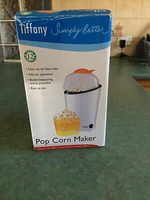 Tiffany Popcorn Maker