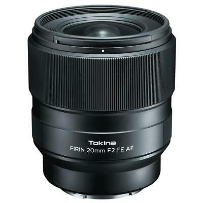 Tokina FiRIN 20mm F/2.0 FE Auto Focus Lens for Sony E Series #FRN-AF20FXSE