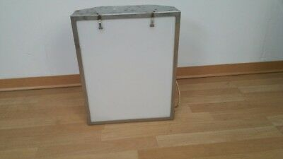 Light box for reading x-rays radiology chest viewer 30's from a doctor