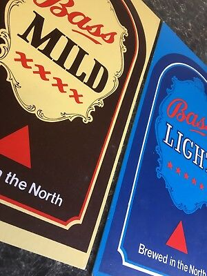 Vintage Bass Brewery Advertising Signs