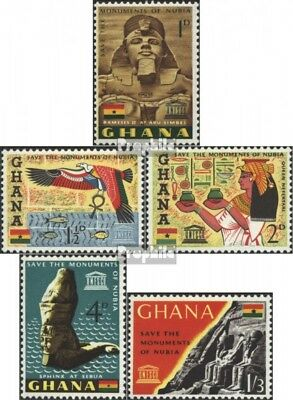 Ghana 157-161 (complete issue) unmounted mint / never hinged 1963 nubian Monumen