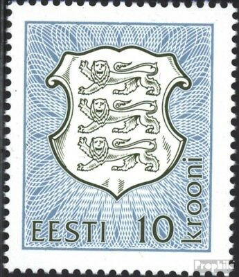 Estonia 206 (complete issue) unmounted mint / never hinged 1993 State Emblem
