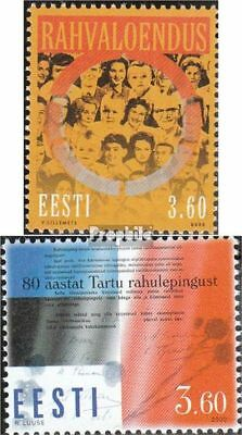 Estonia 363,364 (complete issue) unmounted mint / never hinged 2000 special stam