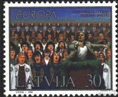 Latvia 476 (complete issue) unmounted mint / never hinged 1998 National Celebrat