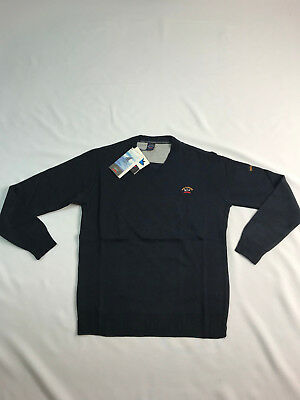 Paul and Shark sweatshirt jumper jacket paul and shark polo ALL SIZES Color Navy
