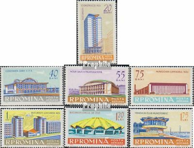 Romania 2030-2036 (complete issue) used 1961 Modern Architectur
