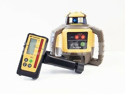 Topcon RL-H5A Rotating Laser with Digital MM Reading Receiver & Rec Pack