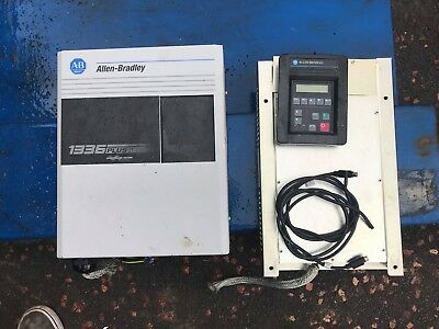 ALLEN BRADLEY 1336 PLUS II AC DRIVE With Filter 1336F RFB-30 A 4 Programing