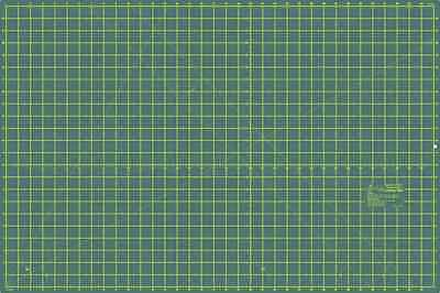 "Sew Easy Premium Quality Double Sided Cutting Mat 24"" x 18"" and 600 x 450mm"