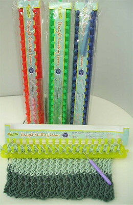 Classic Knit Straight Knitting Loom 38cm, Assorted Colours Available