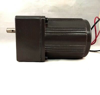 110V AC Gear Motor, 7.5:1 Ratio, 1250 / 1550 RPM, 0.6 / 0.8 A