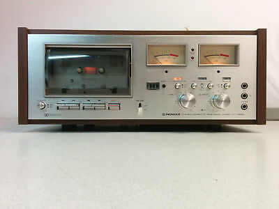 Pioneer CT-F8282 Stereo Cassette Tape Deck