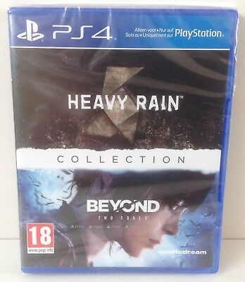 PS4 Heavy Rain & Beyond Two Souls Collection * NEW & SEALED Playstation 4 PAL 2