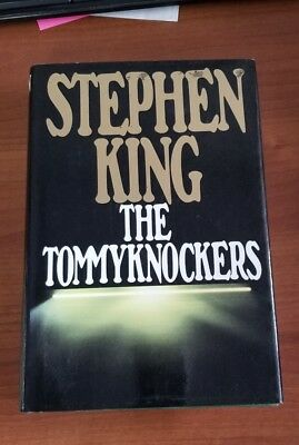 The Tommyknockers Stephen King hard cover book novel dust jacket signature embos