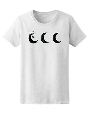 Cool Crescent Moons Women's Tee -Image by Shutterstock