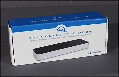NEW Other World Computing (OWC) Thunderbolt 2 Dock #OWCTB2DOCK12T for Apple/MAC