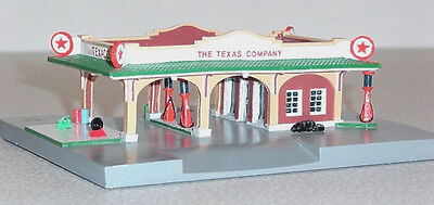 TEXACO #2 Service Gas Station 30s Deco Design Lefton Roadside 1995 HO Scale MIB