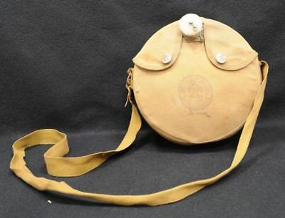 Vintage Boy Scouts Of America Canteen With Cotton Pouch And Strap