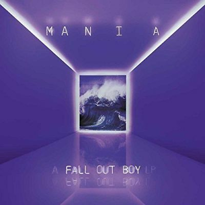 M A  N   I    A Mania by Fall Out Boy (NEW CD, 2017) Usually ships in 12 hours!!