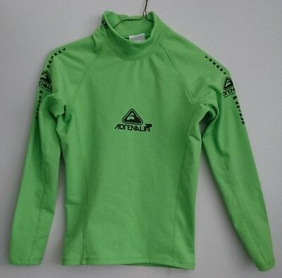 Adrenalin 2P Thermal Long Sleeve Top LIME XXS. 50+ UV Thermo protection