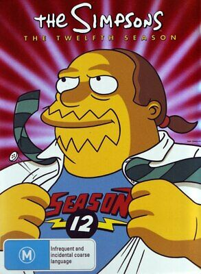 THE SIMPSONS: SEASON 12 BOX SET (4 DISC)-Brand New-Still Sealed