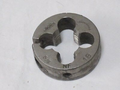 5/8- 18 NF Round Die, Adjustable, Made in USA