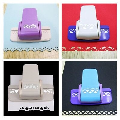 Paper Edge Border Punch for Embossing Punch Scrapbooking Craft Tool 4 Design