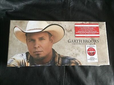 Garth Brooks Boxed Set Includes 10 Music CD Collection- New