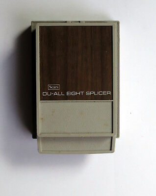Vintage Sears Du-All Eight 8mm Film Splicer with light