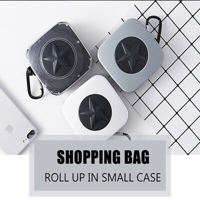 Reusable Foldable Eco Recycle Grocery Travel Bag Shopping Carry Bags Tote AU