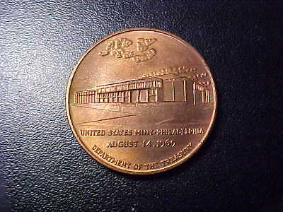 United States Mint Philadelphia August 14,1969 Token!   Bb101Xsc2