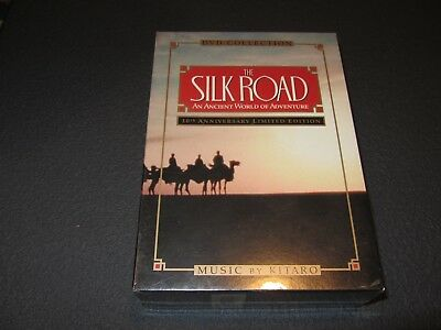 New / Sealed - OOP - Silk Road DVD Collection (2000, 3-Disc Set) VERY RARE!