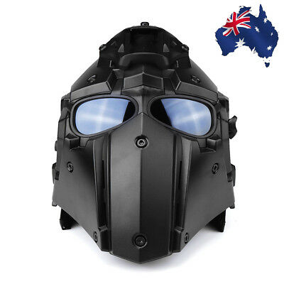 Tactical Helmet Protective Airsoft Paintball Outdoor CF CS Game Full Face Mask