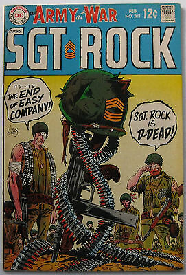 Our Army At War #202 (Feb 1969, DC), VFN-NM condition