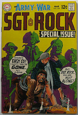 Our Army At War #204 (Mar 1969, DC), NM condition