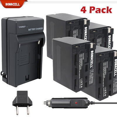 NP-F950 NP-F770 NP-F960 NP-F970 Battery or Charger for Sony NP-F330 NP-F550 TP