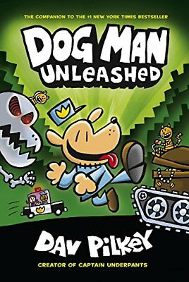 Dog Man Unleashed From Creator of Captain Underpants #2 Fiction Literature Books