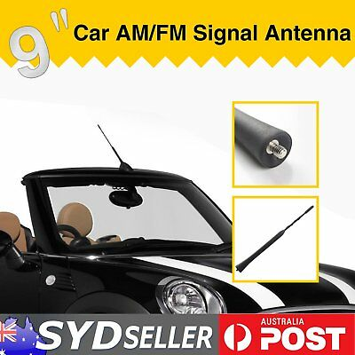 9'' Car Antenna Aerial Radio Audio AM/FM Extend Signal Amplifier Auto Booster OZ
