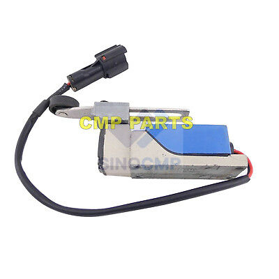 24V Solenoid Valve Magnetic Switch 301411-00030 For Daewoo Doosan, 3 month warty