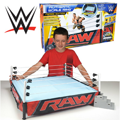 """Mattel WWE Authentic Scale Ring Huge 22"""" x 22"""" Brand New"""
