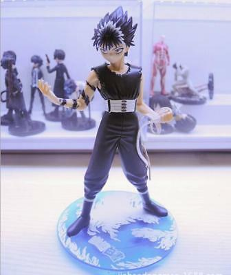 Japanese Anime Yu Yu Hakusho Hiei Black Dragon Statue PVC Figure Model Doll