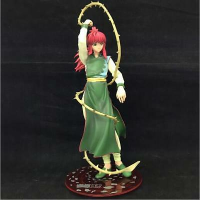 Cartoon Japanese Anime Yu Yu Hakusho Fox Zangma Statue PVC Figure Model Doll