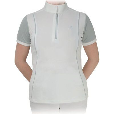 Hy Sport Pro International Womens Shirt Competition - White Grey All Sizes