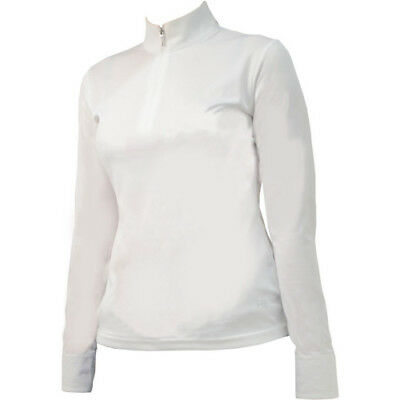 Hy Fashion Charlotte Long Sleeved Womens Shirt Competition - White All Sizes