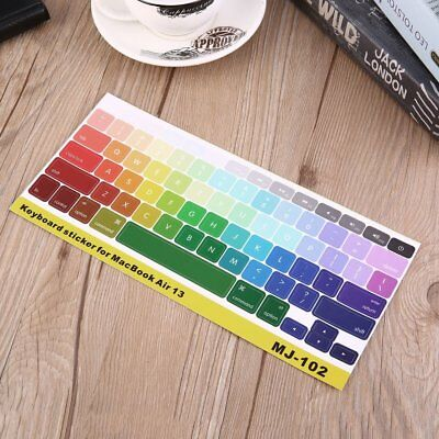 Dustproof Durable Alphabet Laptop Keyboard Cover Sticker for MacBook Air NY