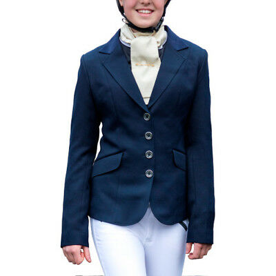Mark Todd Junior Elite Kids Jacket Competition Jackets - Navy All Sizes